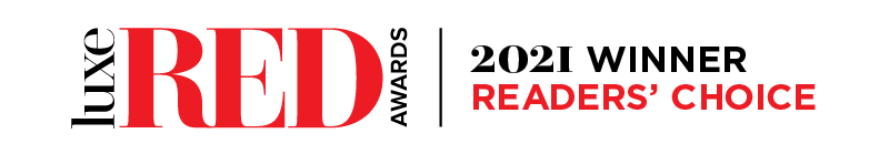 Luxe Red Awards 2021 Reader's Choice Winner