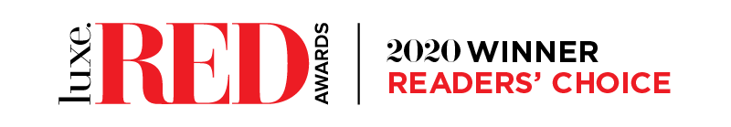 2020 Luxe RED Readers Choice logo